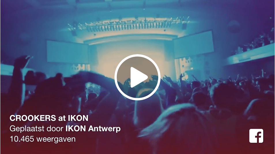 Crookers at club IKON Antwerp