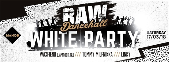 raw dancehall white party