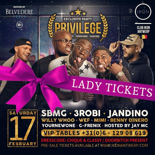 Privilege lady tickets