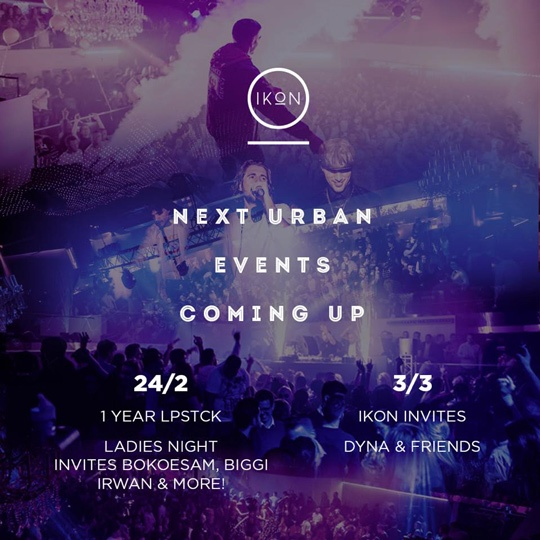 next Urban events