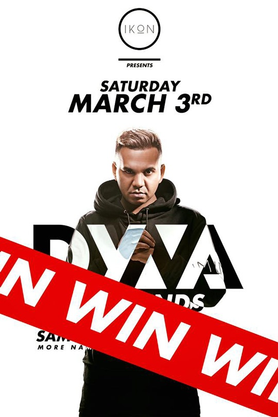WIN A VIP TABLE DYNA