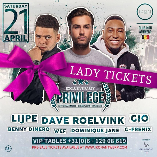 Lady tickets Privilege