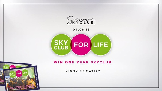 SKYCLUB FOR LIFE: WIN!