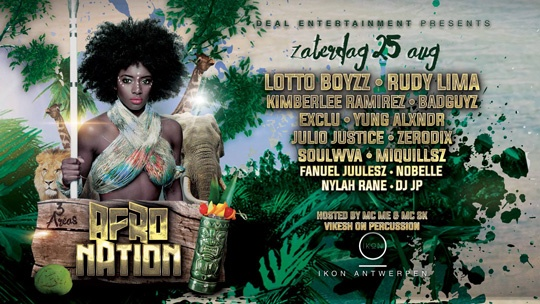 This Saturday! Afro Nation invites