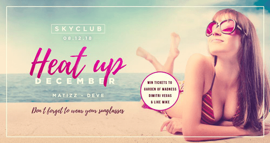 SKYCLUB: HEAT UP DECEMBER