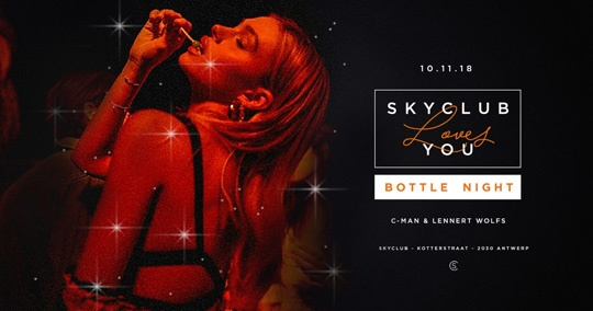 SKYCLUB LOVES YOU: BOTTLE NIGHT w/ Lennert Wolfs