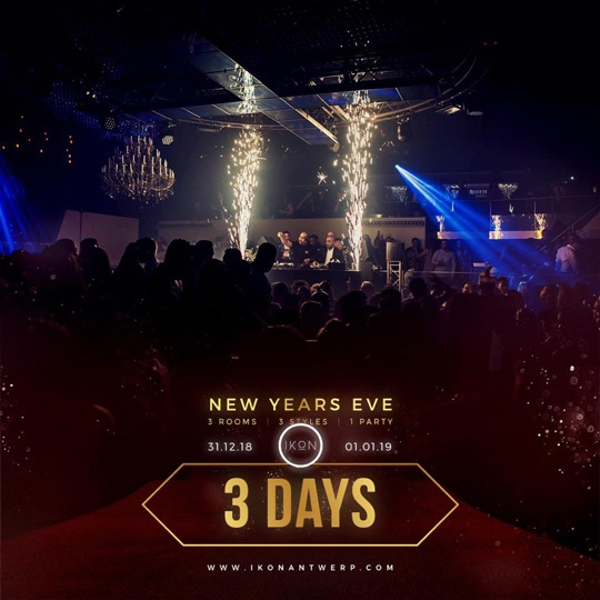 3day to go NYE IKON