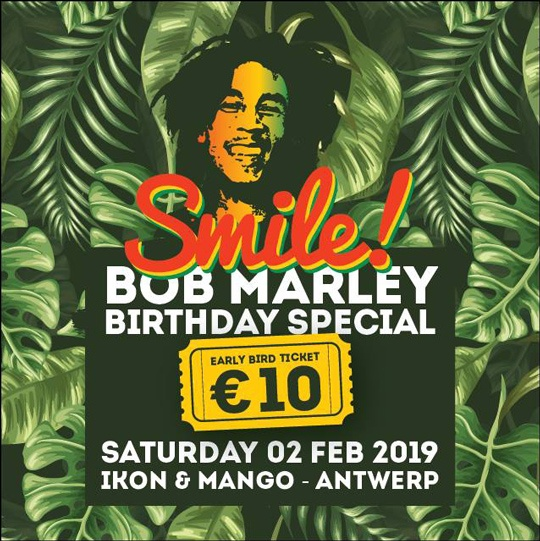 Smile! Bob Marley Birthday