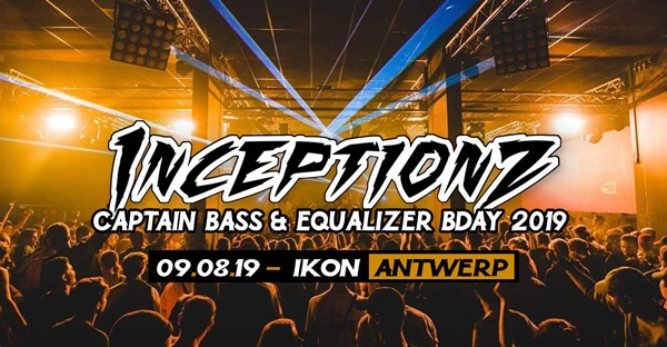 Captain Bass & Equalizer Birthday Bash