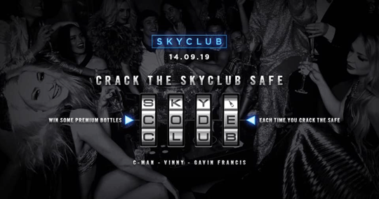 CRACK THE SKYCLUB SAFE