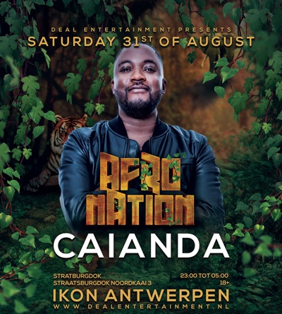 Afro Nation ~ Saturday 31th August ~ Club Ikon Antwerpen