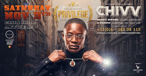 Privilege ✦ IKON Antwerpen ✦ LIVE on stage CHIVV