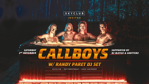 Skyclub invites Callboys With Randy Paret Dj set