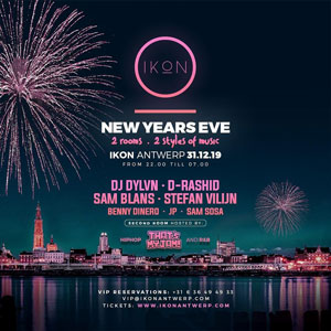 IKON Antwerp NYE | 2019/2020; The best way to step into 2020