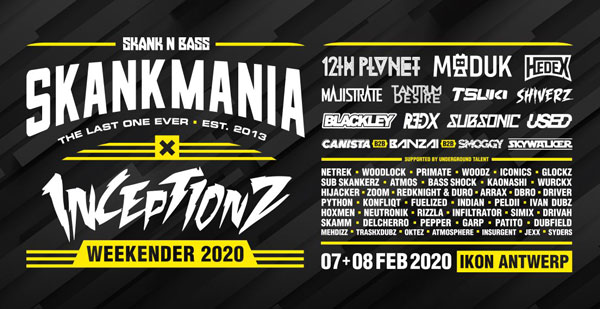 Skankmania x Inceptionz | Weekender 2020 (the last one ever)